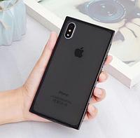 Силиконовый прозрачный чехол для Apple iPhone XR