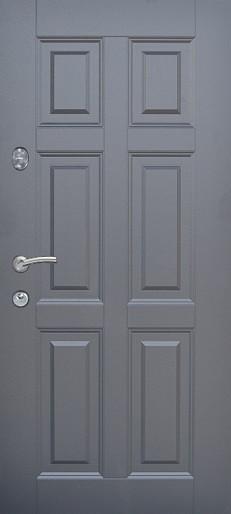 Двери квартирные, модель 179 Премиум, 870*2050, металл 2 мм, коробка 110 мм, глухие, сердцевина MUL-T-LOCK