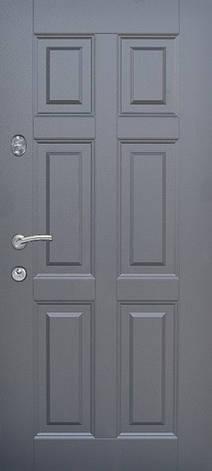 Двери квартирные, модель 179 Премиум, 870*2050, металл 2 мм, коробка 110 мм, глухие, сердцевина MUL-T-LOCK , фото 2