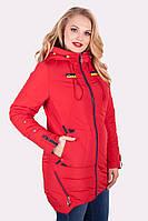 Р-р 50-60 женская куртка  демисезонная Удобная, красивая