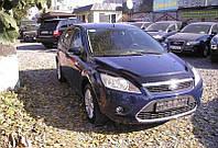 Дефлектор капота (мухобойка) Ford Focus II+ 2008-2010, Vip Tuning, FR06