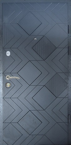 Двери квартирные, модель 181 Комфорт, 970*2050, коробка 110 мм, замки KALE
