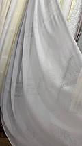Шикарная льняная тюль YLS-508, фото 2
