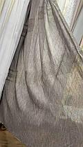Шикарная льняная тюль YLS-508, фото 3
