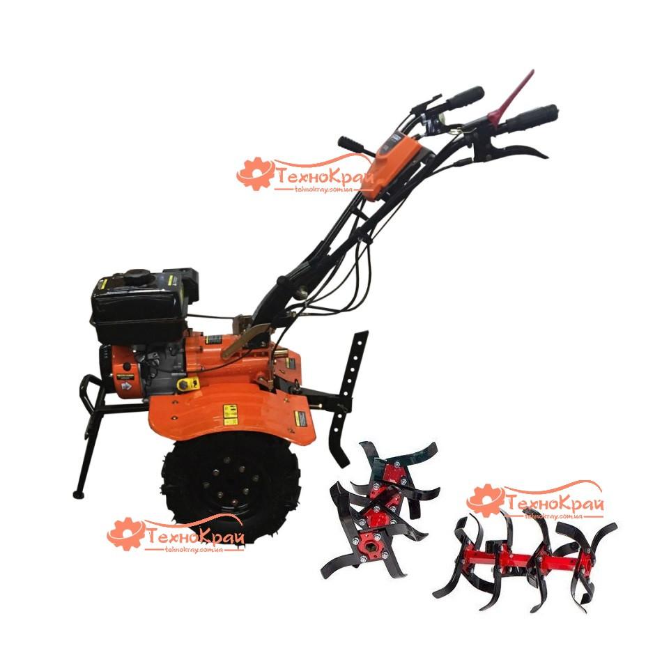 Мотоблок бензиновый культиватор Forte 1050GS мотокультиватор 7 л.с, фреза 95 см, воздушное охлаждение