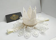Повязочка-корона для девочки