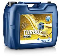 Масло моторное Neste Turbo+ 10W-40 (20л) синтетическое