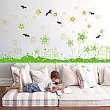 Вінілова наклейка на стіну, меблі для дому, кафе, дитячого садка (64537), фото 3