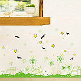 Вінілова наклейка на стіну, меблі для дому, кафе, дитячого садка (64537), фото 4