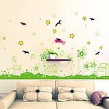 Вінілова наклейка на стіну, меблі для дому, кафе, дитячого садка (64537), фото 5