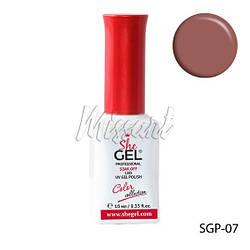 Гель лак She Gel SGP-07