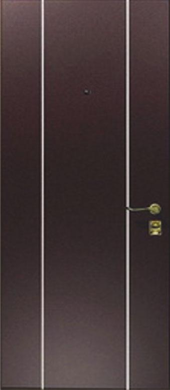 Двери квартирные, модель МЛ3 Премиум 970*2050, коробка 110 мм, металл 2 мм, молдинг 25 мм, MOTTURA