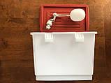 Поплавочный клапан для емкости. Поплавок для бака для поения кур бройлеров перепелов кроликов для поилок., фото 4