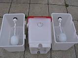 Поплавочный клапан для емкости. Поплавок для бака для поения кур бройлеров перепелов кроликов для поилок., фото 8