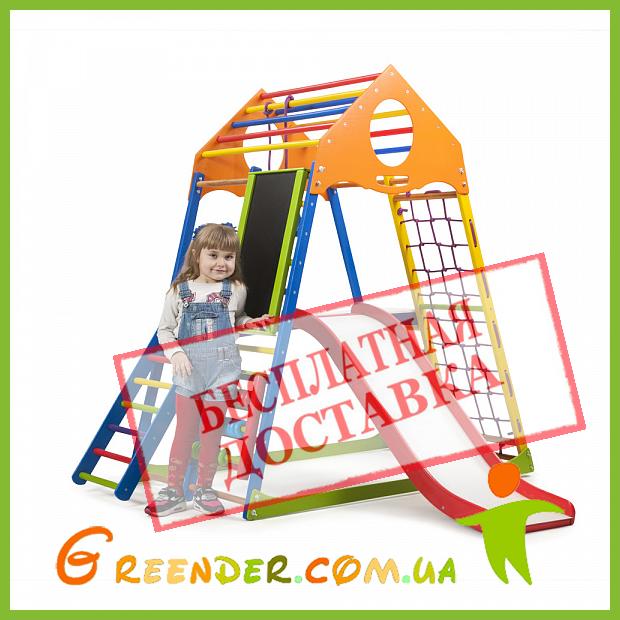 Детские шведские стенки для дома KindWood Color Plus 3