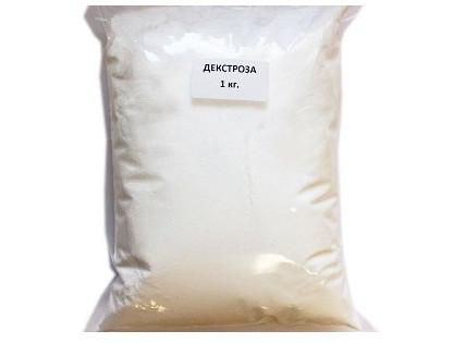 Декстроза-глюкоза (виноградный сахар) 1 кг.