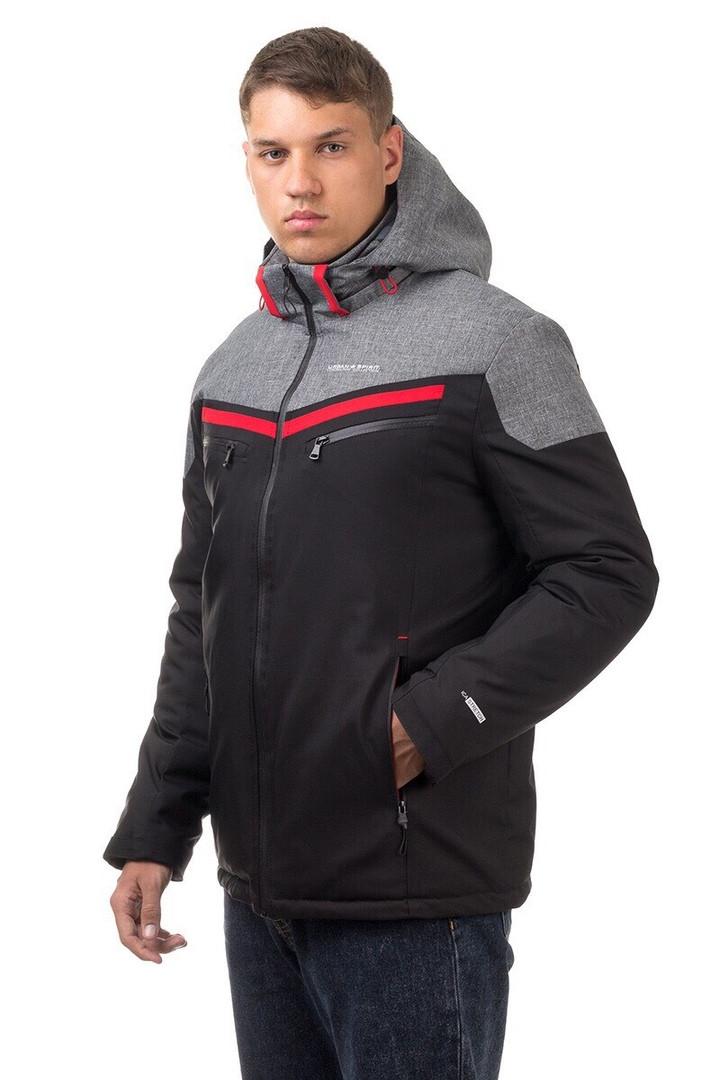 """Мужская куртка """"Urban Spirit"""", цвет серый, размеры 44 - 54"""