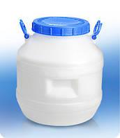 Бочка 40 литров (НЕ герметичная крышка)