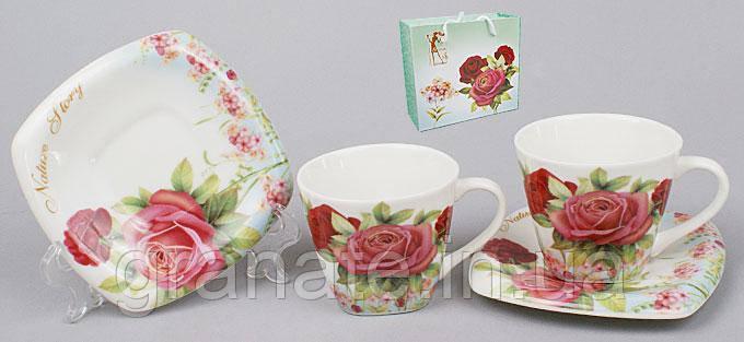 Кофейный подарочный набор чашек