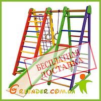 Игровые спортивные стенки для детей «Эверест-3», фото 1