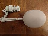 Поплавочный клапан для емкости. Поплавок для бака для поения кур бройлеров перепелов кроликов для поилок., фото 3