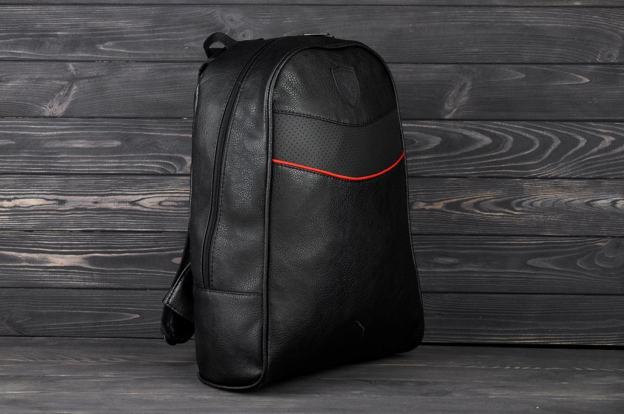 b51827535fd9 Стильный повседневный городской рюкзак Puma Ferrari, пума. Черный ...