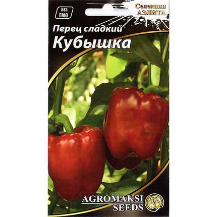 """Семена перца раннего, сладкого """"Кубышка"""" (0,2 г) от Agromaksi seeds, фото 2"""