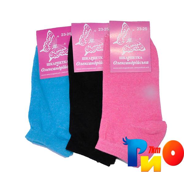 Детские носочки  (85% cotton, 15% poliamid) без сетки, для девочек р-р 23-25 ( 12 ед. в уп)
