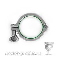 """Кламп-соединение 3"""" (76мм) Доктор Градус"""