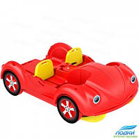 Водный велосипед Kolibri mini Beetle красный