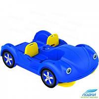 Водный велосипед Kolibri mini Beetle синий