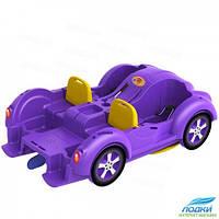 Водный велосипед Kolibri mini Beetle фиолетовый