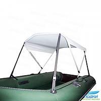 Тент надувной лодки Kolibri KM450D белый