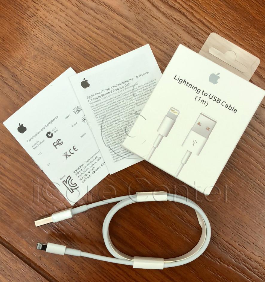 Оригінальний кабель шнур зарядка для айфон iphone 5 6 7 8 Х (ebay)