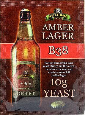 Пивные дрожжи Bulldog B38 Amber Lager