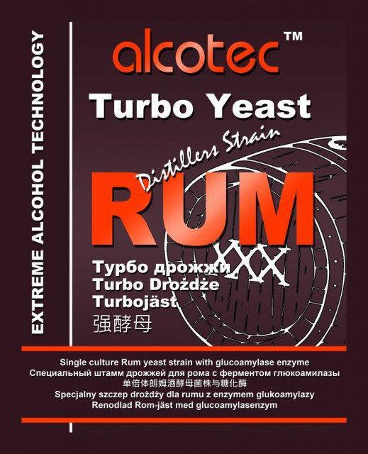Спиртовые турбо дрожжи Alcotec Rum Turbo