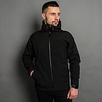 Мужская демисезонная Куртка Прайд Софт Шелл черная Отличное качество b2e2e1319b77a