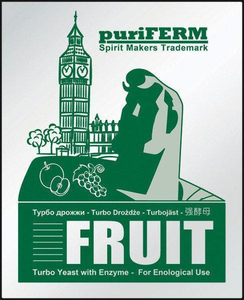 Фруктовые турбо - дрожжи Puriferm FRUIT