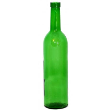 Винная бутылка 0,75 литра (зеленое стекло)