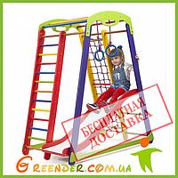 Детский спортивный комплекс для квартиры - Кроха - 1 Plus 1