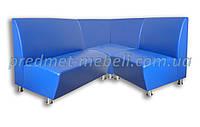 Модульный угловой диван для кафе, залов ожидания, офиса