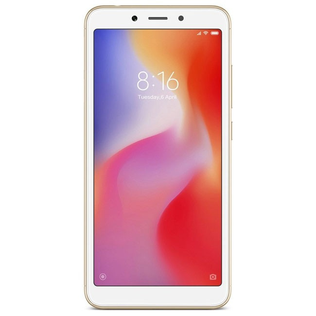 Xiaomi Redmi 6 3/64GB Gold EU - Global Version
