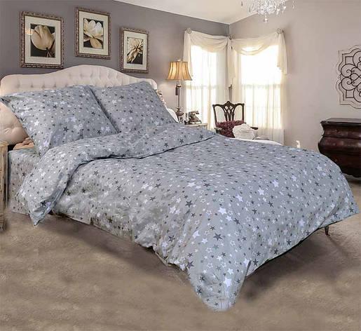 Двуспальный комплект постельного белья евро 200*220 хлопок  (11320) TM KRISPOL Украина, фото 2