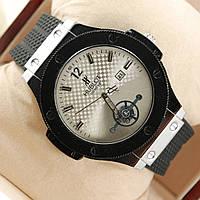 Часы мужские Hublot silver white