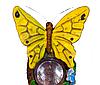 Садовый светильник на солнечной батарее бабочка