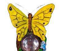 Садовый светильник на солнечной батарее бабочка, фото 1