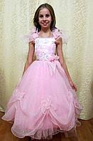 Прокат лёгкого розового платья для девочки в Харькове, фото 1