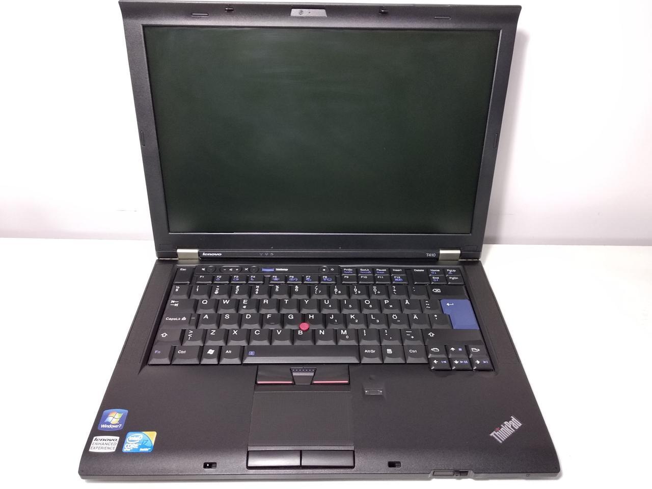"Ноутбук Lenovo ThinkPad T410 /Intel Core i7-620M 3.33GHz/4Гб/14.1""/HD Graphics + NVIDIA NVS 3100M"