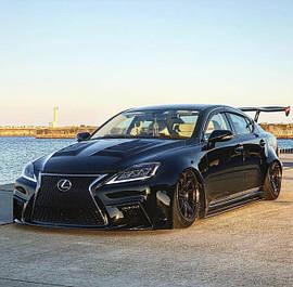 Внешний тюнинг Lexus IS