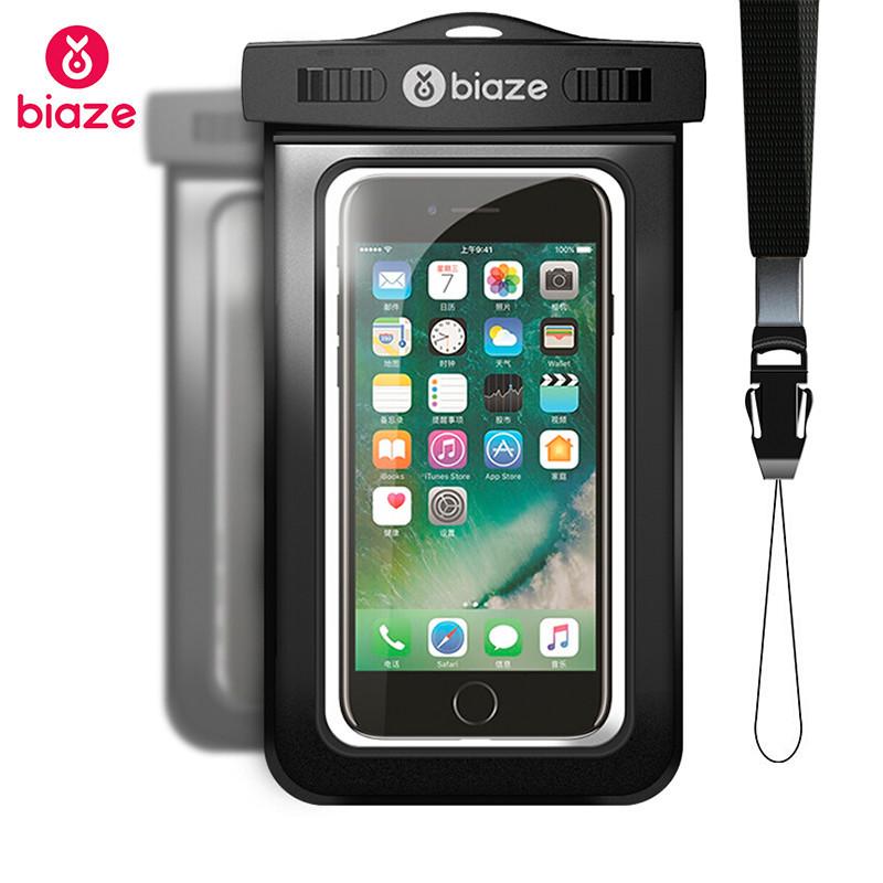 """Чехол водонепроницаемый Biaze Waterproof для мобильных телефонов до 5.8"""""""